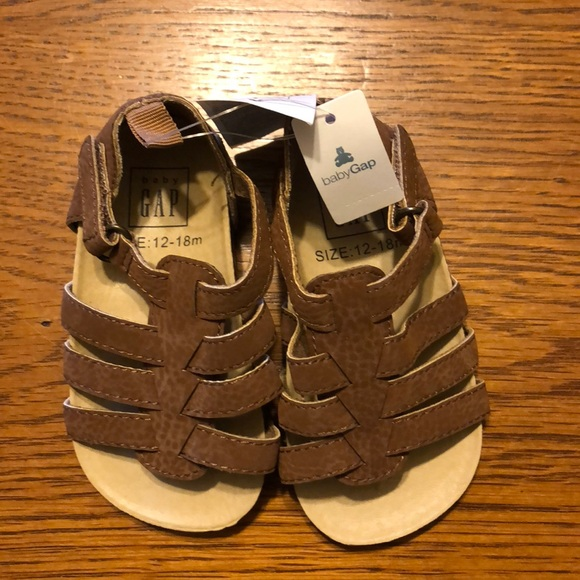 GAP Other - Baby Gap Brown Sandals